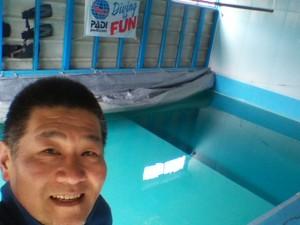 プールの準備も完了です!