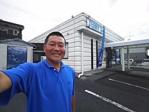 台風ですがあまり影響はありません・・・でも開店休業状態です。